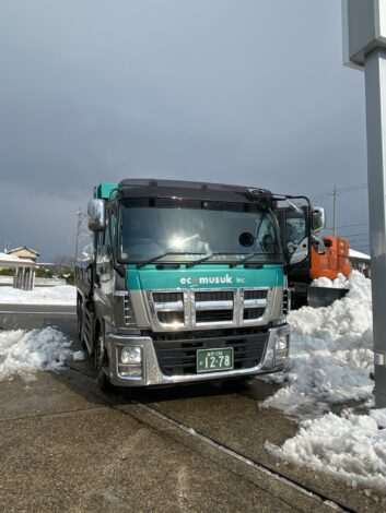 大変な雪でした!